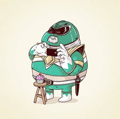 14-green-power-ranger-fat-chunky