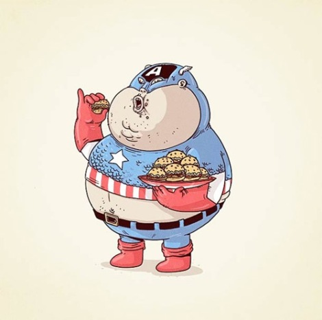 9-captain-america-fat-chunky