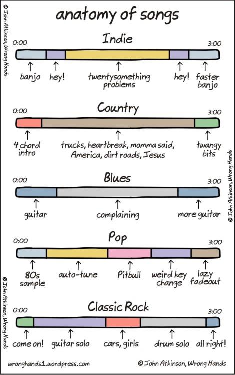 Anatomia de las canciones