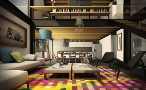colorful-living-room-design-600x370