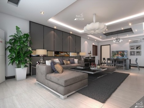 sleek-living-room-decor-600x450