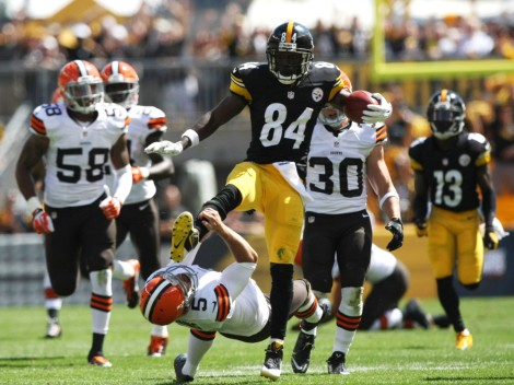 USP NFL: CLEVELAND BROWNS AT PITTSBURGH STEELERS S FBN USA PA