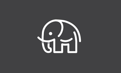 Elephant-Overlaping-Techniques-in-logo-design