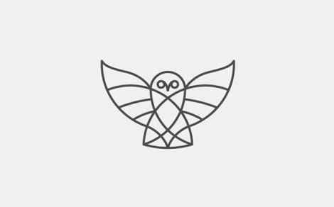 owl_Thin-line-logo-design