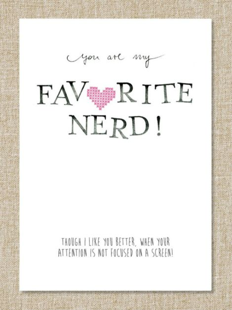 75745843-Valentinstagskarte-Favorite-Nerd2__700